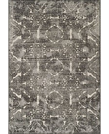 D Style Logan Lo4 Pewter Area Rugs Collection