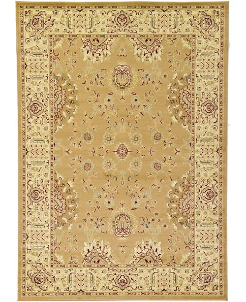 Bridgeport Home Passage Psg2 Tan Area Rug Collection