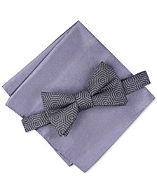 Men's Debrin Abstract Pre-Tied Bow Tie, Created For Macy's