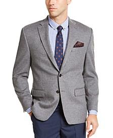 Luxury Wool/Cashmere-Blend Classic-Fit Sport Coat