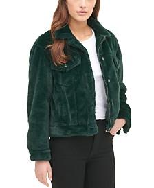 Levi's® Faux Fur Trucker Jacket