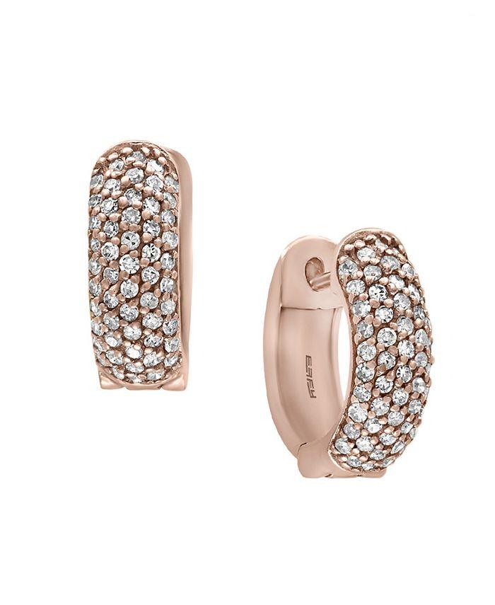 EFFY Collection - EFFY Diamond Earrings in 14k Rose Gold