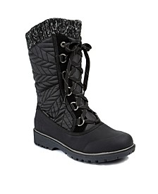 Waterproof Cold Weather Stark Mid Calf Boots