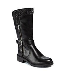 Carisse Mid-Calf Boots