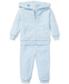 Polo Ralph Lauren Baby Boys Velour Hoodie & Pants
