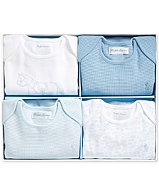 Baby Boys Interlock Bodysuit Set