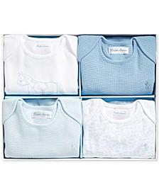 Baby Boys Interlock Bodysuit Set