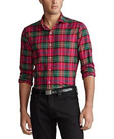 폴로 랄프로렌 Polo Ralph Lauren Mens Classic Fit Plaid Cotton Shirt
