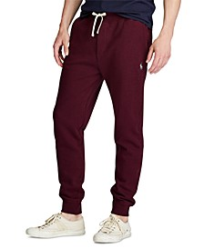 Men's Big & Tall Cotton-Blend Fleece Joggers