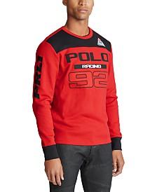 Polo Ralph Lauren Men's Waffle-Knit Cotton T-Shirt