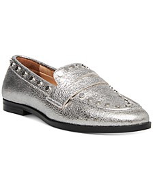 Women's Ample Studded Loafers