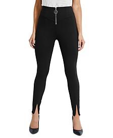 Kumiko Zip-Front Skinny Pants