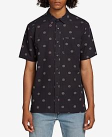 Men's Nolen Regular-Fit Geo-Print Shirt