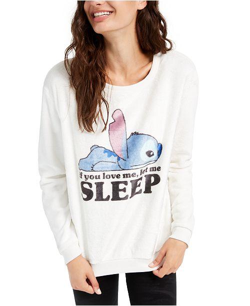 Disney Juniors' Stitch Sleep Plush Sweatshirt