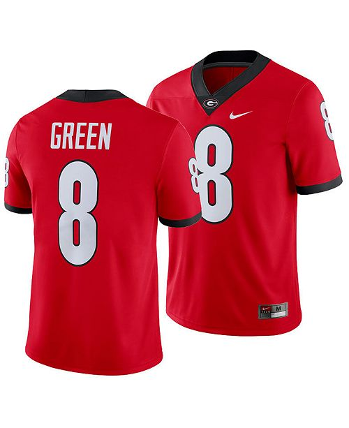 Nike Men's A.J. Green Georgia Bulldogs Player Game Jersey
