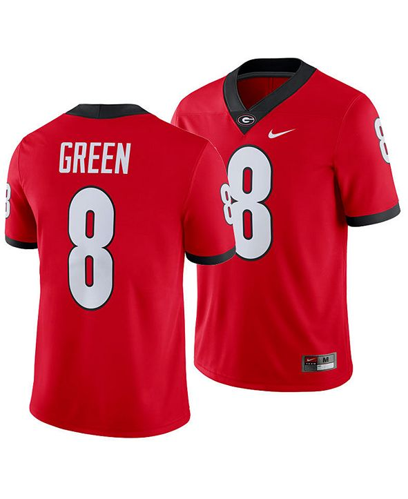 Nike Men's A.J. Green Georgia Bulldogs Player Game Jersey