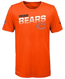 Big Boys Chicago Bears Sideline T-Shirt