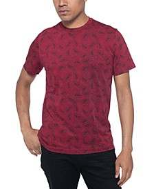 Men's Paisley-Print T-Shirt
