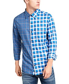 Men's Double-Plaid Shirt