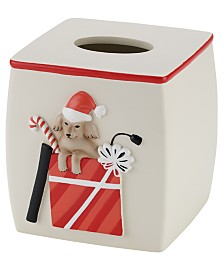 Avanti Holiday Dogs Tissue Cover