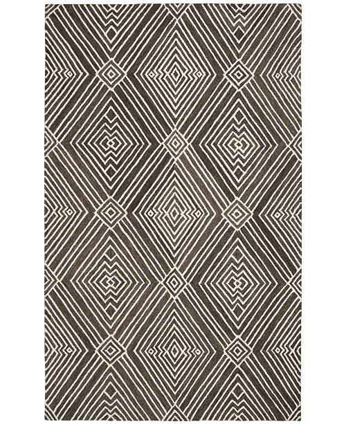 Lauren Ralph Lauren Isabella LRL6608F Charcoal Area Rug Collection