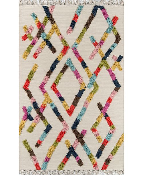 Novogratz Collection Novogratz Indio Ind-3 Multi Area Rug Collection