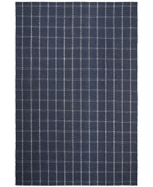 Tamworth Check LRL6450D Navy Area Rug Collection