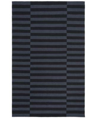 Ludlow Stripe LRL7350E Onyx 4' X 6' Area Rug