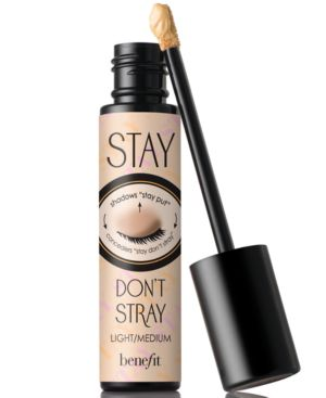 Stay Don'T Stray 360 Degree Stay Put Eyeshadow Primer Light/ Medium 0.33 Oz/ 10 Ml in Light/Medium