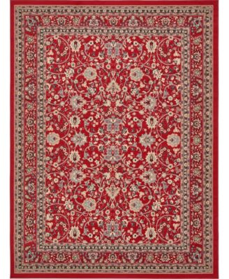 Arnav Arn1 Red 4' x 6' Area Rug