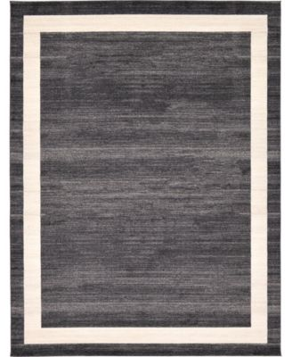 Lyon Lyo5 Black 10' x 13' Area Rug