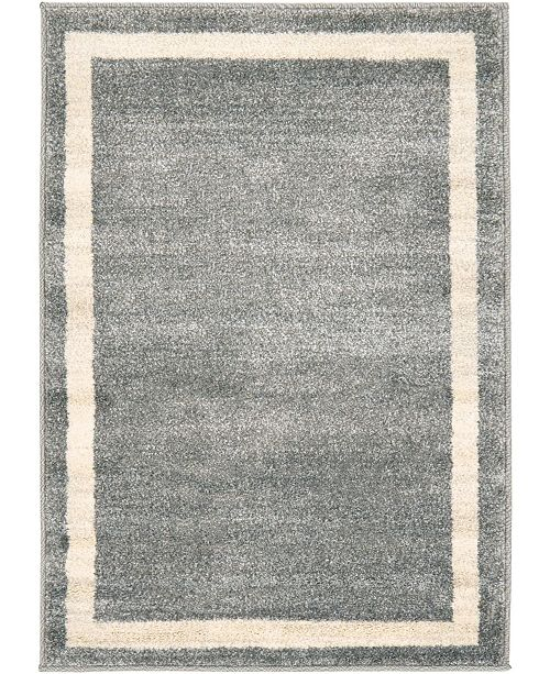 Bridgeport Home Lyon Lyo5 Gray Area Rug Collection