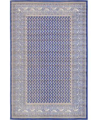 Axbridge Axb1 Blue 4' x 6' Area Rug