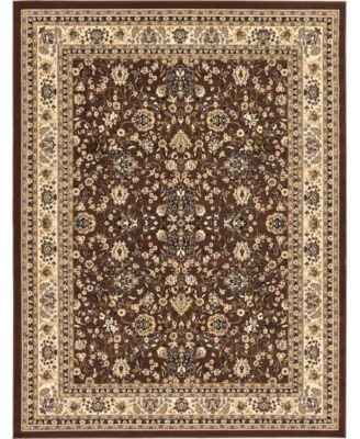 Arnav Arn1 Brown 5' x 8' Area Rug