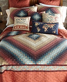American Heritage Textiles 3 Piece Quilt Set- King
