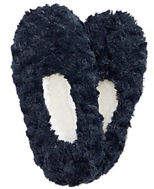 Faux-Fur Slipper Socks, Created For Macy's