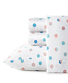 Polka Donuts Twin Extra Long Sheet Set