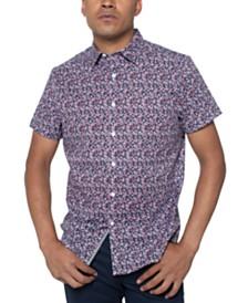 Kenneth Cole Men's Floral-Print Shirt