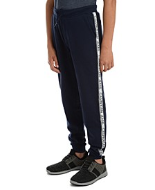 Big Boys Logo Tape Fleece Joggers