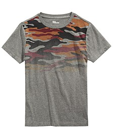 Big Boys Camo-Print T-Shirt, Created For Macy's