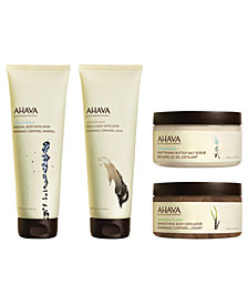 Ahava Body Exfoliators Collection