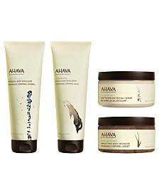 Ahava Body Exfoliators Collection