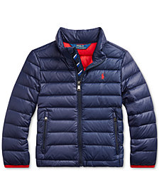 Polo Ralph Lauren Toddler Boys Packable Quilted Down Jacket