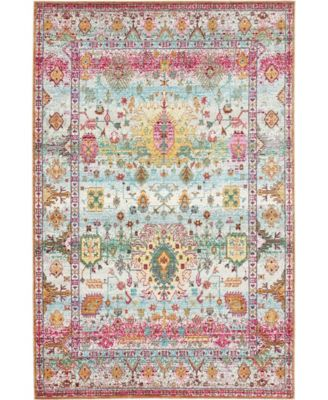 Malin Mal1 Light Green 6' x 9' Area Rug