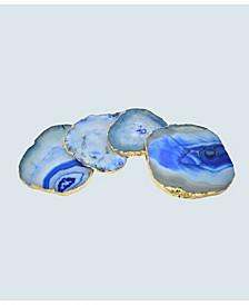- Agate Gnarled Coasters, Set of 4