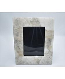 """- 10"""" H x 8"""" W Quartz Agate Picture Frame"""
