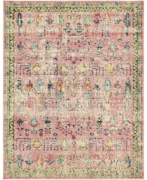 Bridgeport Home Newhedge Nhg6 Pink Area Rug Collection