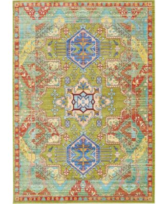 Malin Mal5 Light Green 8' x 10' Area Rug