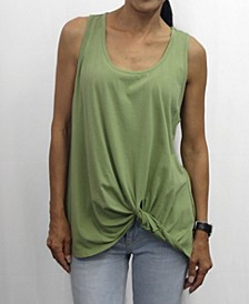 Womens Cotton Twist Tank