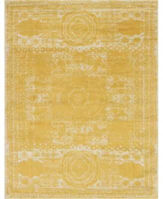 Mobley Mob2 Yellow 10' x 14' Area Rug